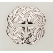 187 Eternal Interlace Plaid Brooch