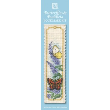 BKBB Butterflies & Buddleia Bookmark