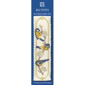 BKBT Bluetits Bookmark
