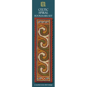 BKCS Celtic Spiral Bookmark (Terracotta)