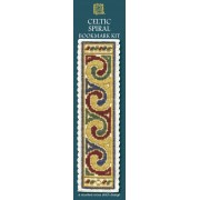 BKCSC Celtic Spiral Bookmark (Cream)