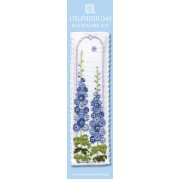 BKDE Delphiniums Bookmark