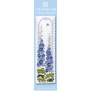BKDE Delphiniums Bookmark