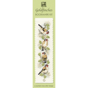 BKGF Goldfinches Bookmark