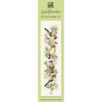 BKGF Goldfinches Bookmark