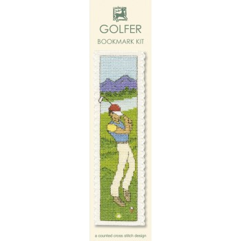 BKGO Golfer Bookmark