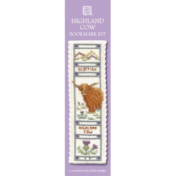 BKHC Highland Cow Bookmark