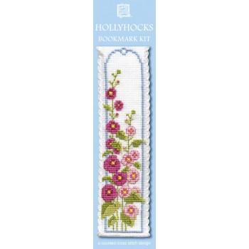 BKHO Hollyhocks Bookmark