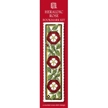 BKHCR Heraldic Rose Bookmark