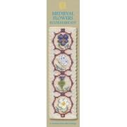 BKMF Medieval Flowers Bookmark
