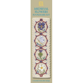 BKMF - Medieval Flowers Bookmark - SALE