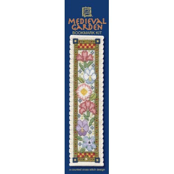 BKMG Medieval Garden Bookmark