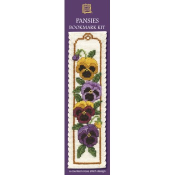 BKPA Pansies Bookmark