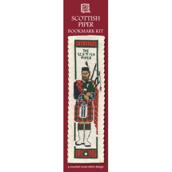 BKPI Scottish Piper Bookmark
