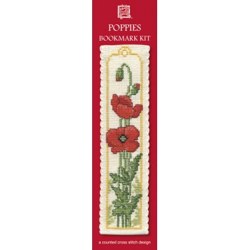 BKPO Poppies Bookmark