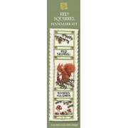 BKRS Red Squirrel Bookmark