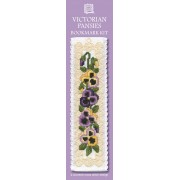 BKVP Victorian Pansies Bookmark
