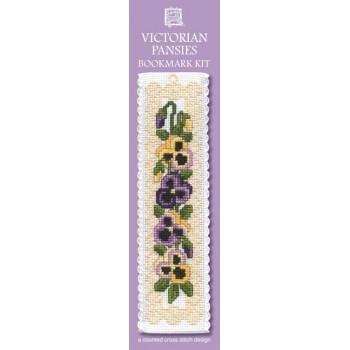 BKVP Victorian Pansies Bookmark