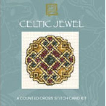 CECJ Celtic Jewel Miniature Card