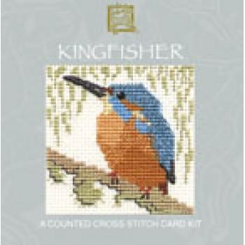 CMKF Kingfisher Miniature Card