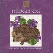 CMHH Hedgehog Miniature Card