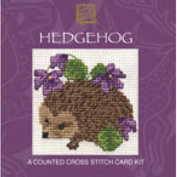 CMHH Hedgehog Miniature Card