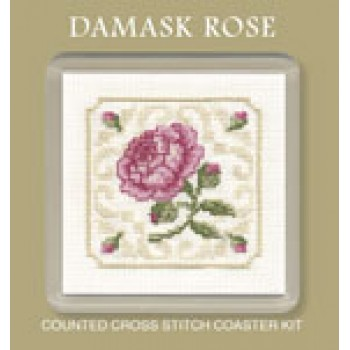 CODR Damask Rose Coaster