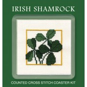 COIS Irish Shamrock Coaster