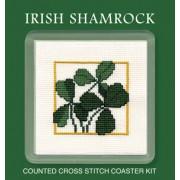 COIS Irish Shamrock Coaster