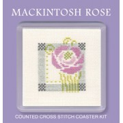 COMR Mackintosh Rose Coaster