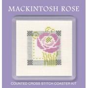COMR Mackintosh Rose Coaster