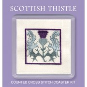 COST Scottish Thistle Coaster