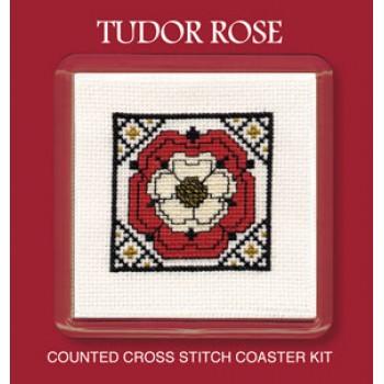COTR Tudor Rose Coaster