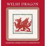COWD Welsh Dragon Coaster