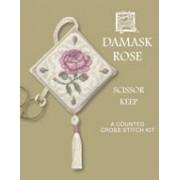 DRSK Damask Rose Scissor Keep