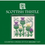 FMST Scottish Thistle Fridge Magnet