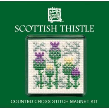 FMST Scottish Thistle Fridge Magnet