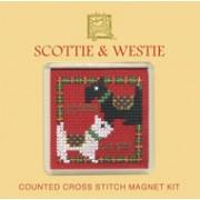 FMSW Scottie & Westie Fridge Magnet