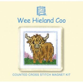 FMWHC Wee Hieland Coo Fridge Magnet