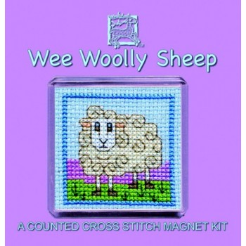 FMWWS Wee Woolly Sheep Fridge Magnet