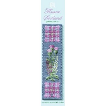BKFL Flowers of Scotland Bookmark
