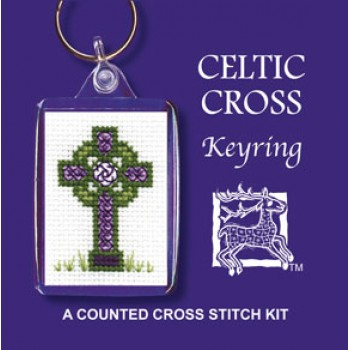 KRCC Celtic Cross Keyring