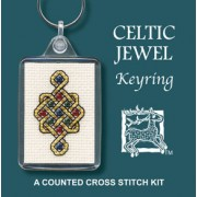 KRCJ Celtic Jewel Keyring
