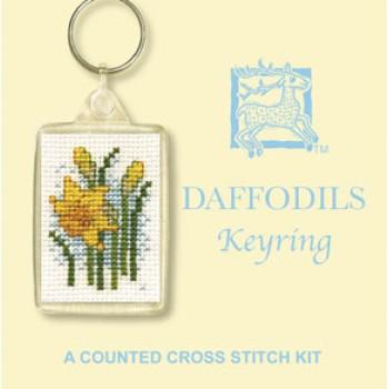 KRDA Daffodils Keyring