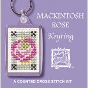 KRMR Mackintosh Rose Keyring
