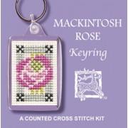 KRMR Mackintosh Rose Keyring