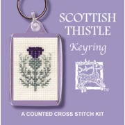 KRST Scottish Thistle Keyring