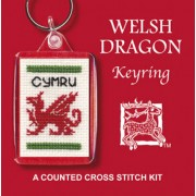 KRWD Welsh Dragon Keyring