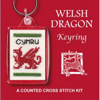 KRWD Welsh Dragon Keyring