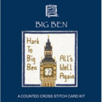 LMBB Big Ben Miniature Card